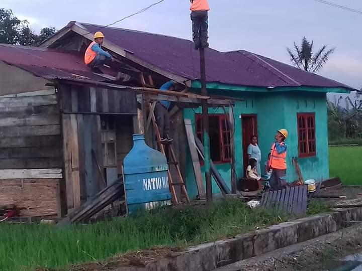 Bupati Taput Tegaskan para korban Puting Beliung Harus dapat segera tempati Rumahnya Kembali1